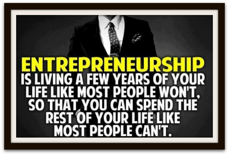 Entrepreneurship-is
